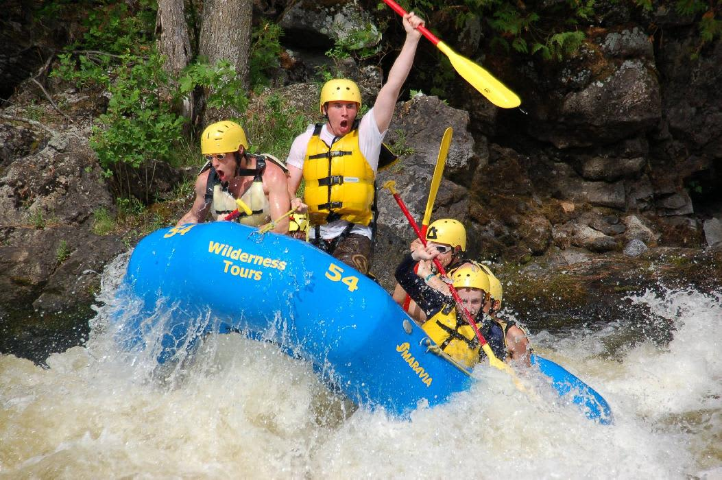 whitewater rafting on the ottawa river