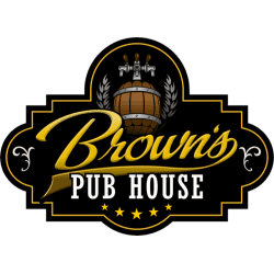 logo for Brown's Pub House located near Black Donald Tent and Trailer Park
